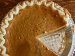 nondairy pumpkin pie