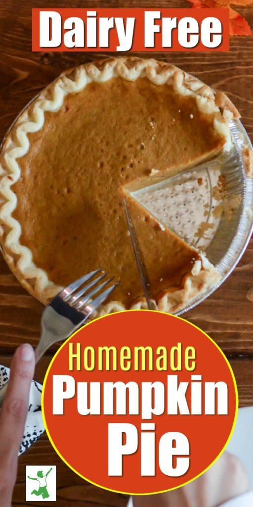 how to make dairy free pumpkin pie
