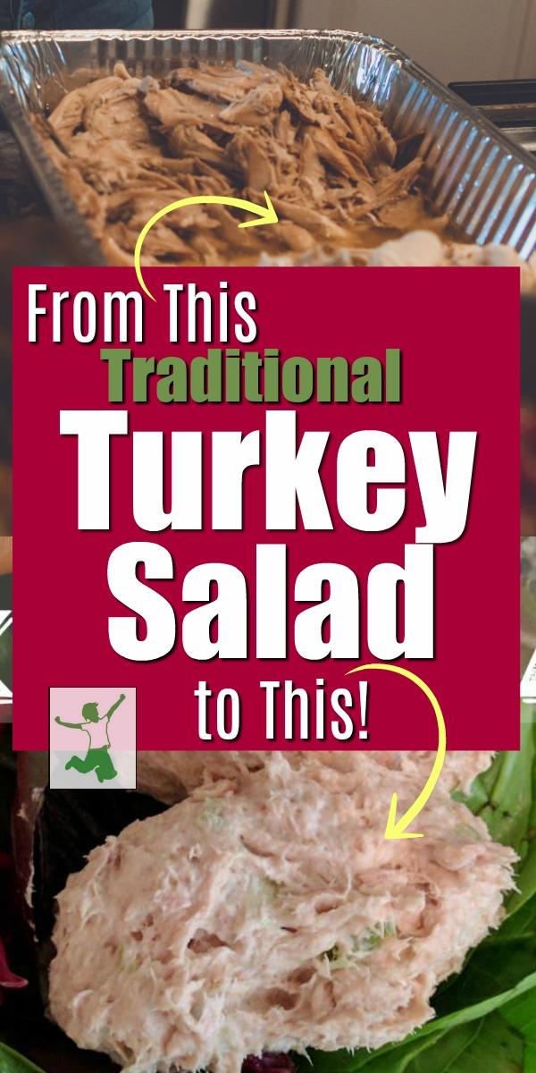 old fashioned turkey salad recipe
