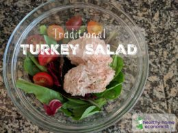 Traditional Turkey Salad Recipe 1
