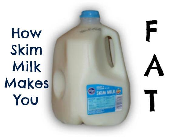 skim milk jug