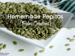 Paleo Croutons Recipe (Pepitas)