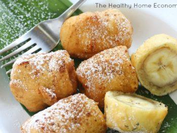 paleo banana fritters recipe