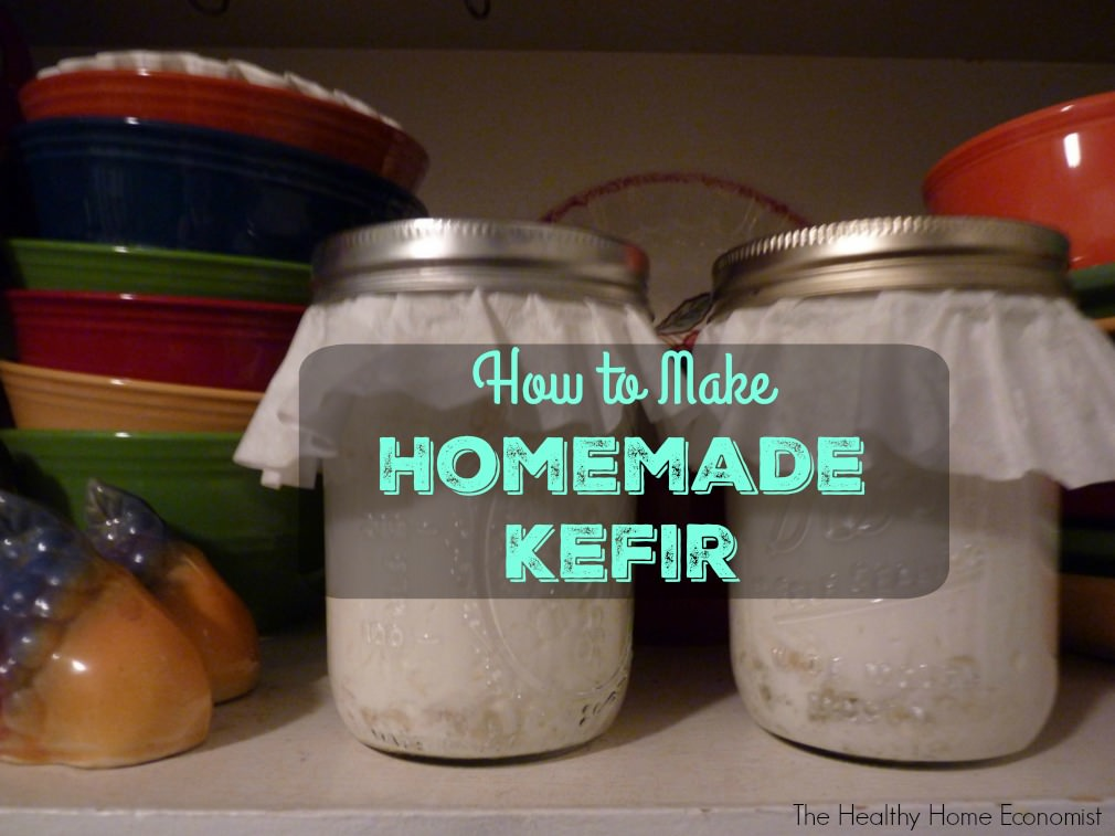 homemade kefir