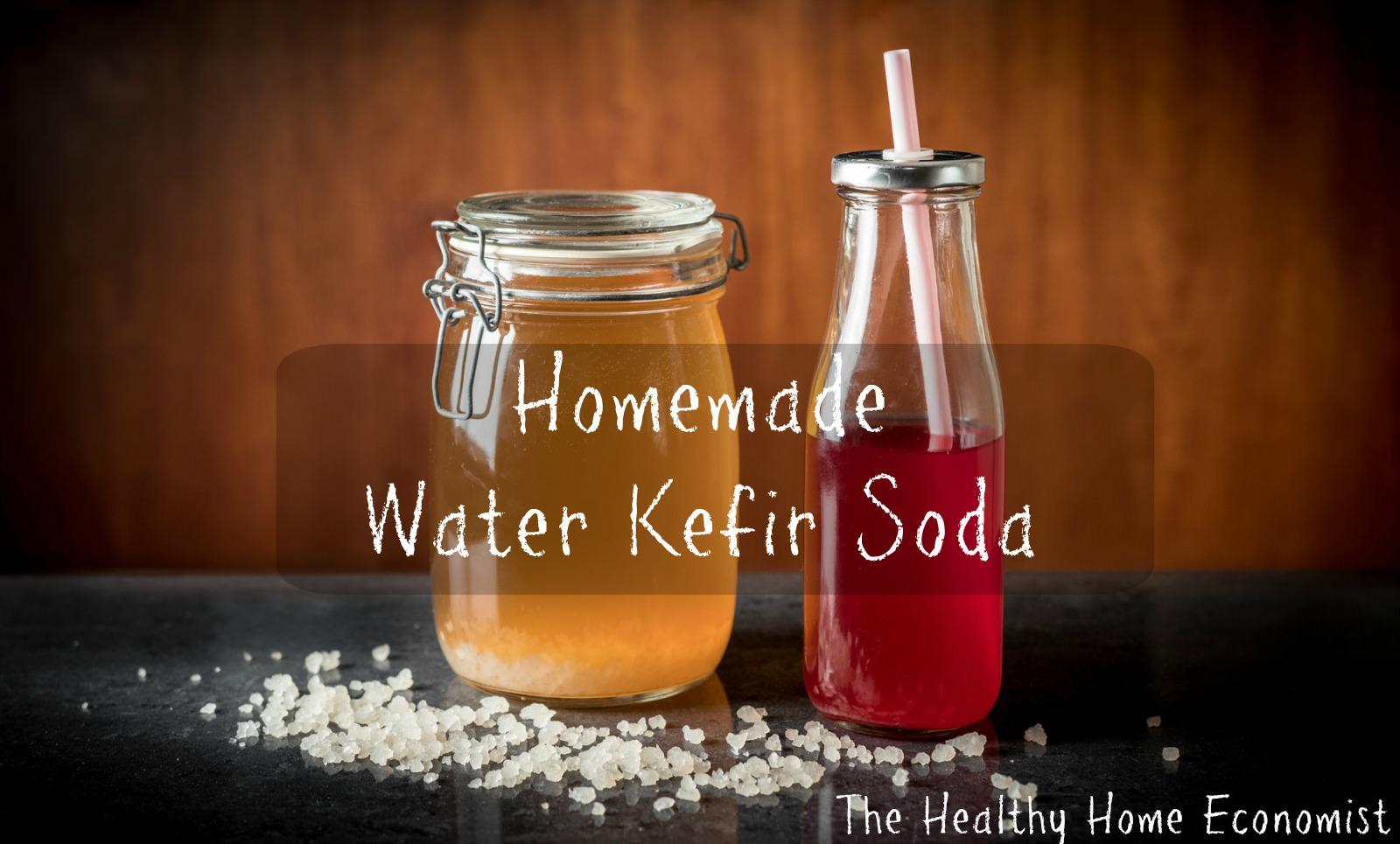 water kefir soda