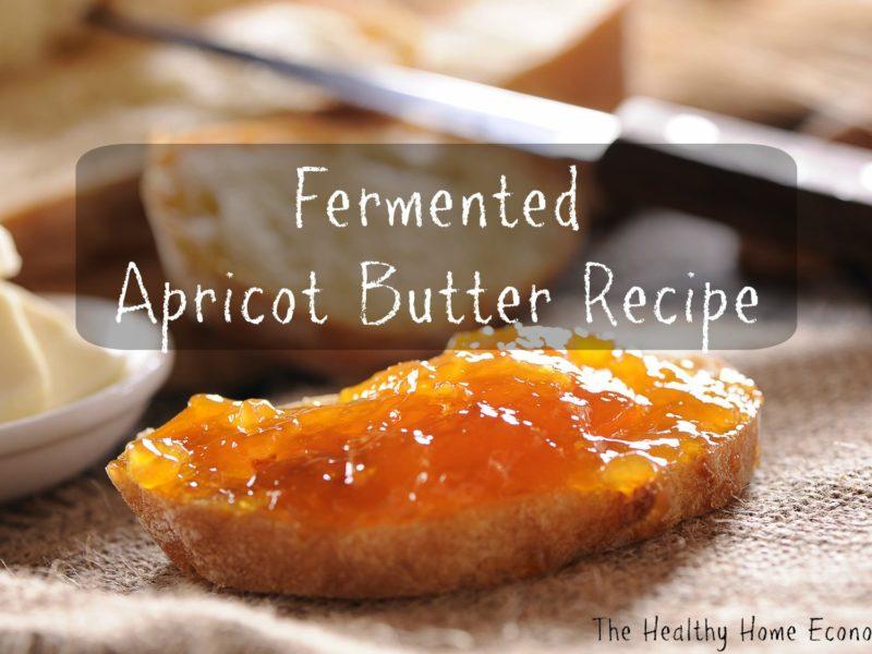apricot butter recipe