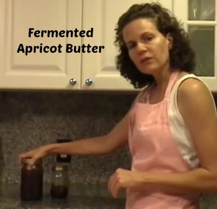 fermented apricot butter