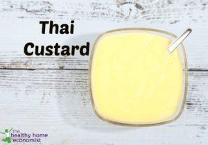 thai custard pudding