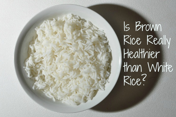 white or brown rice