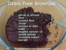 Grain Free Brownies Recipe