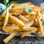 Healthy Stovetop French Fries Recipe (+ VIDEO)