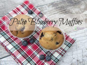 paleo blueberry muffins