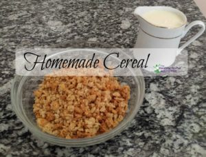 homemade cereal, cereal recipe