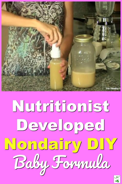 dairy free diy formula