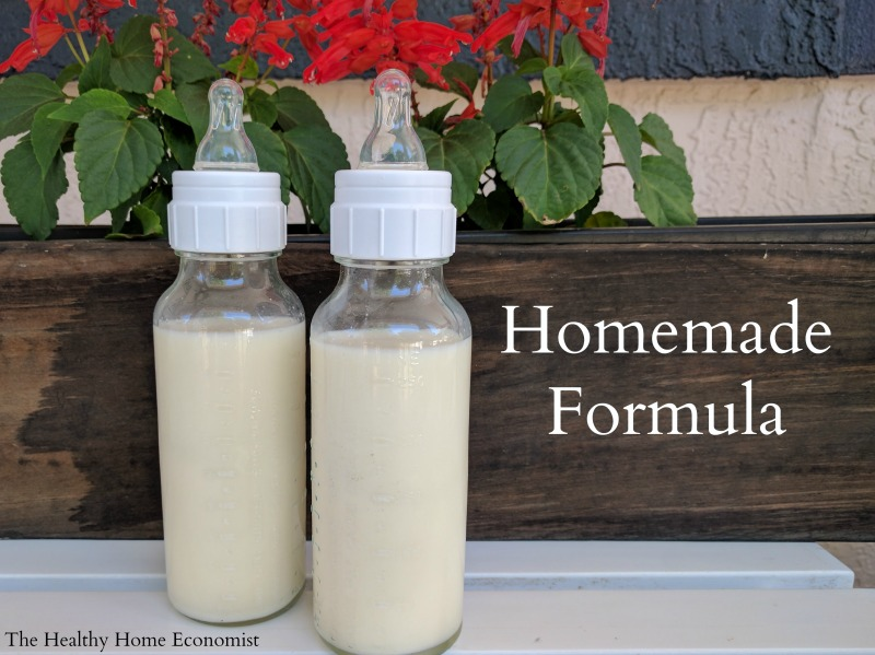 Homemade baby formula recipe video healthy home economist homemade baby formula ccuart Images