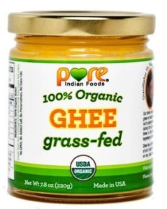Grassfed ghee from Pure Indian Foods