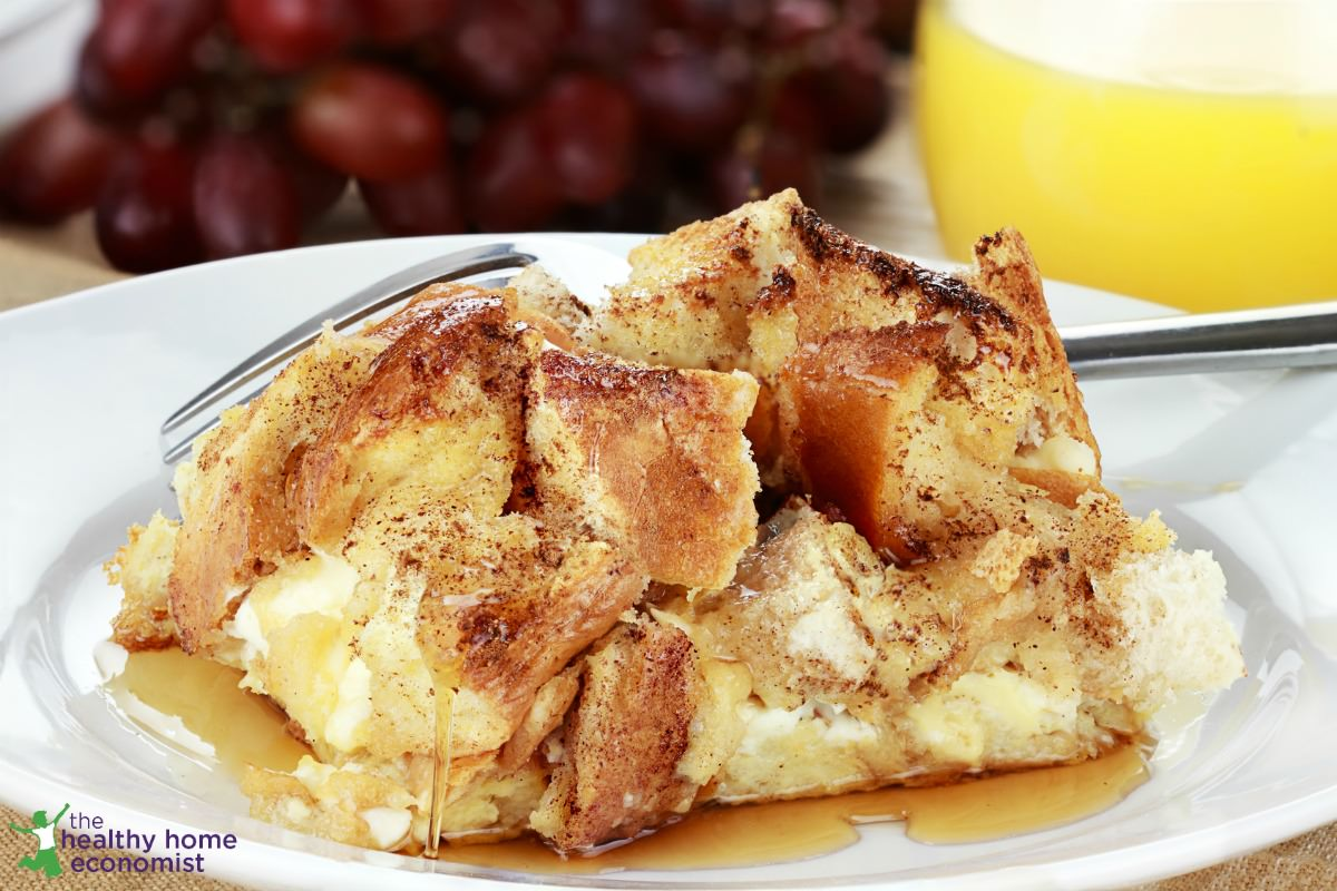 french toast casserole slices