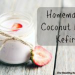 homemade coconut milk kefir