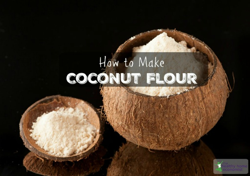 homemade coconut flour