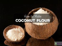 Homemade Coconut Flour Recipe (+ VIDEO)