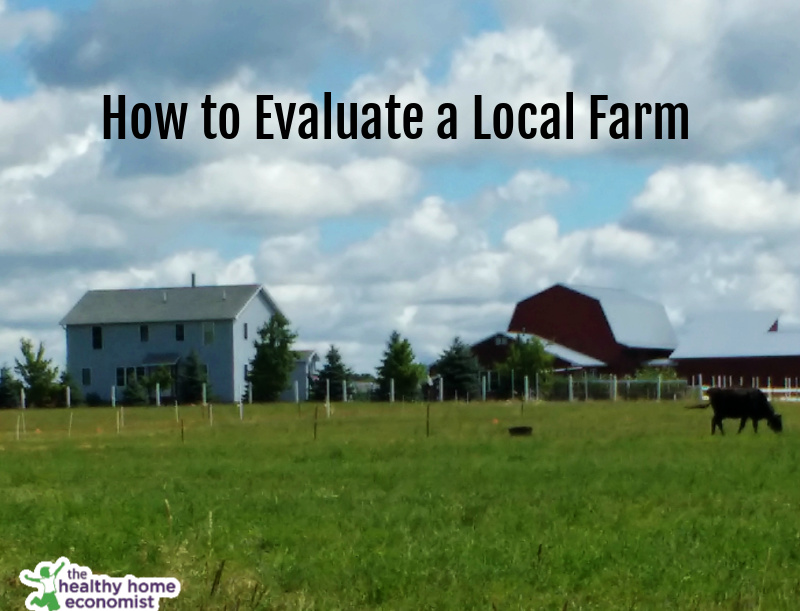 local farm with a barn and pasture