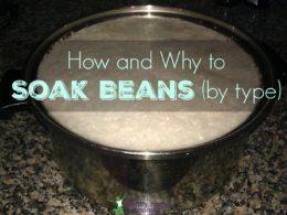 How to Soak Beans Before Cooking (and why you would want to)