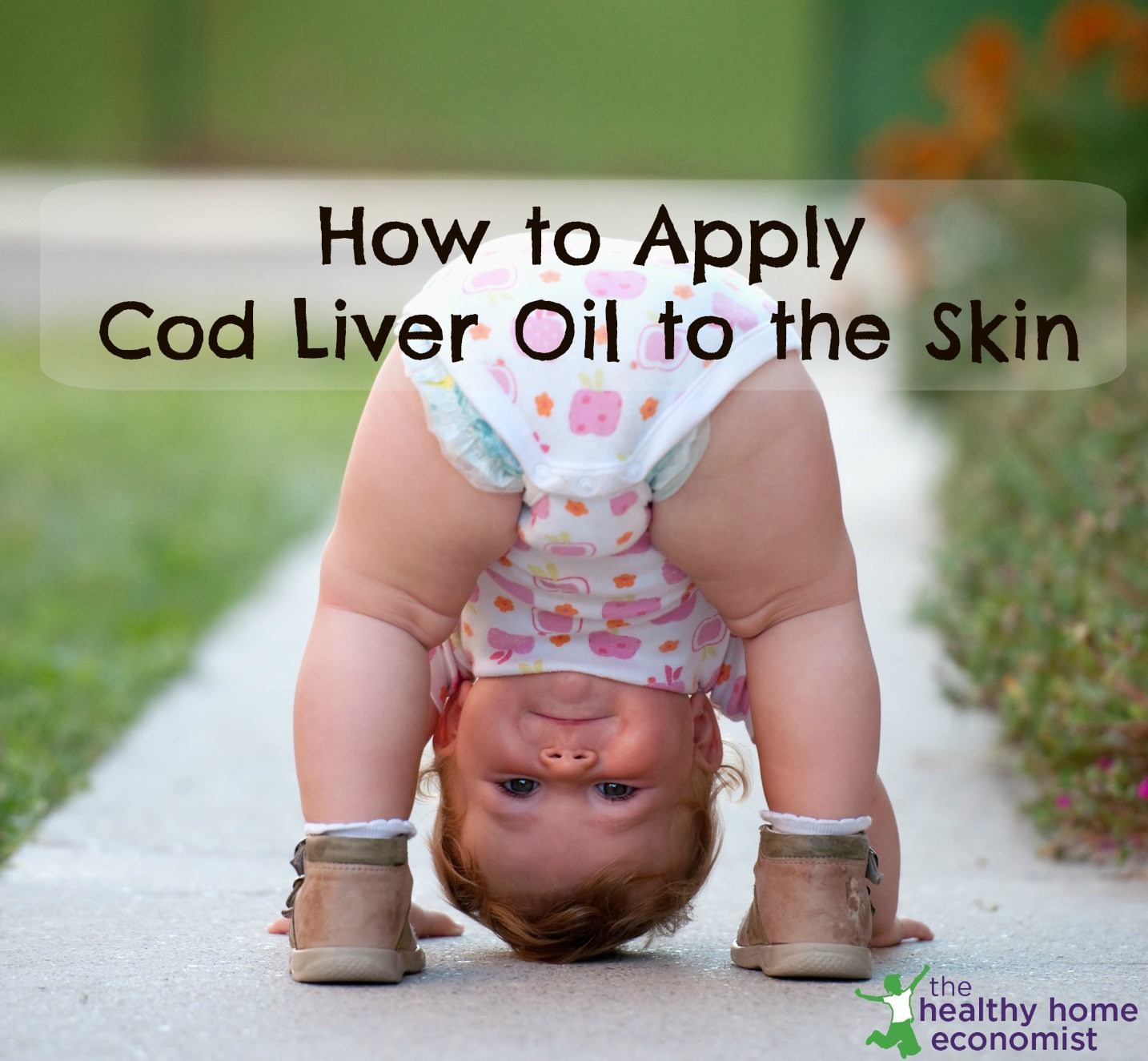 How to Apply Cod Liver Oil to the Skin (instead of taking orally