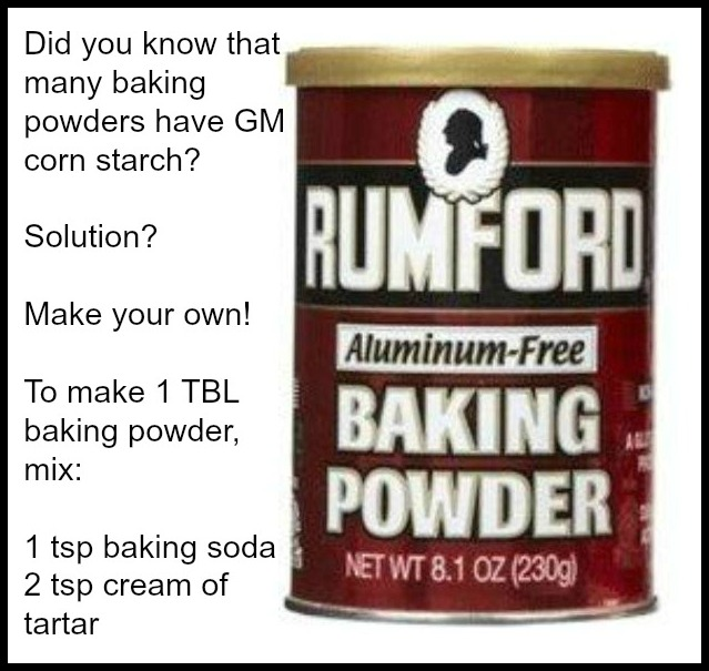 Choosing a healthy baking powder the healthy home economist - Baking soda the powder that works wonders at home ...