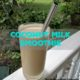 coconut milk smoothie recipe