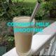 coconut milk smoothie recipe