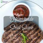 homemade steak sauce