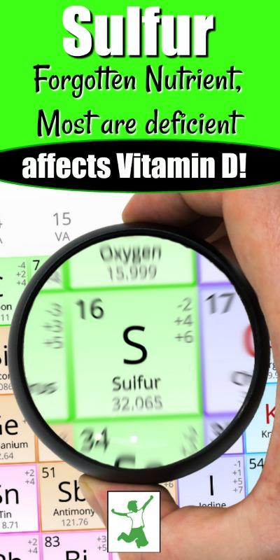 sulfur and vitamin d