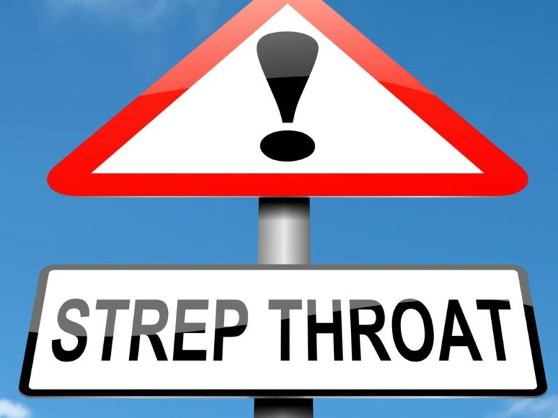 step throat without antibiotics