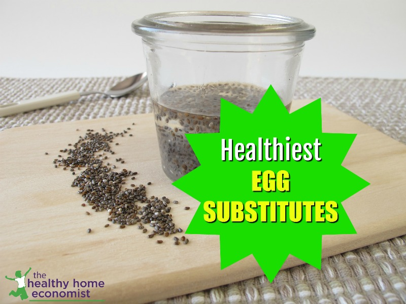 chia seeds in water as egg substitute