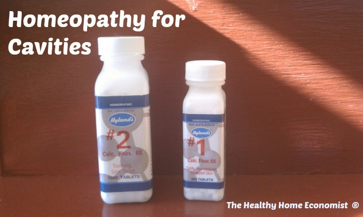 homeopathy for cavities