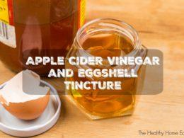 apple cider vinegar tincture recipe