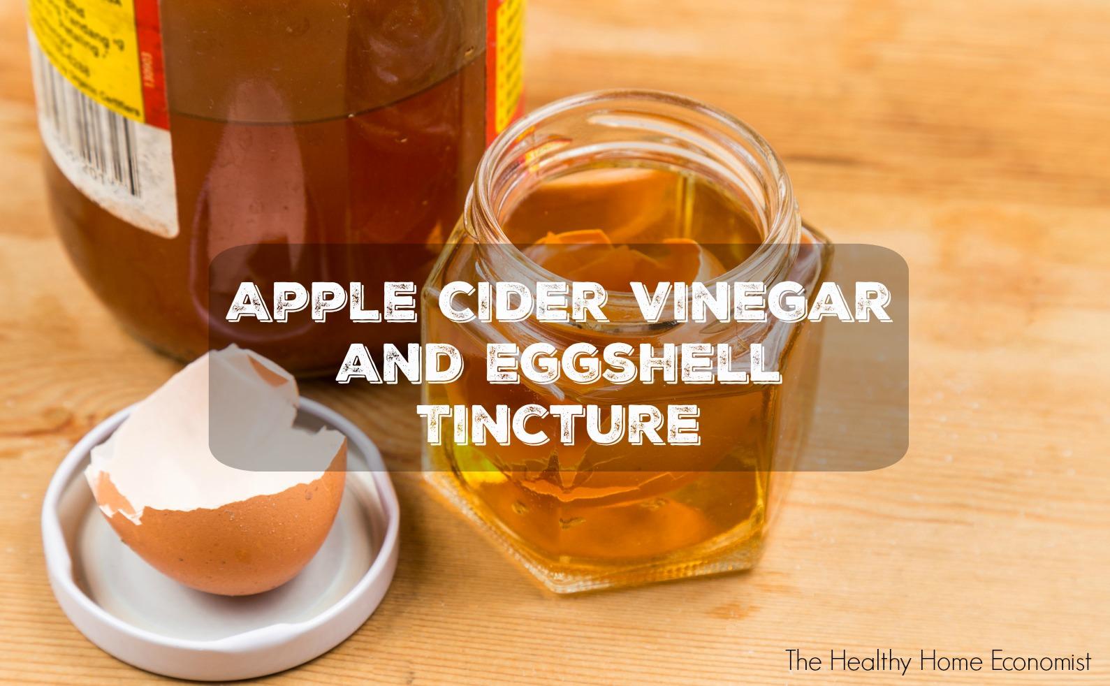 apple cider vinegar remedy