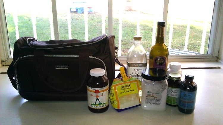 traveling with homemade formula