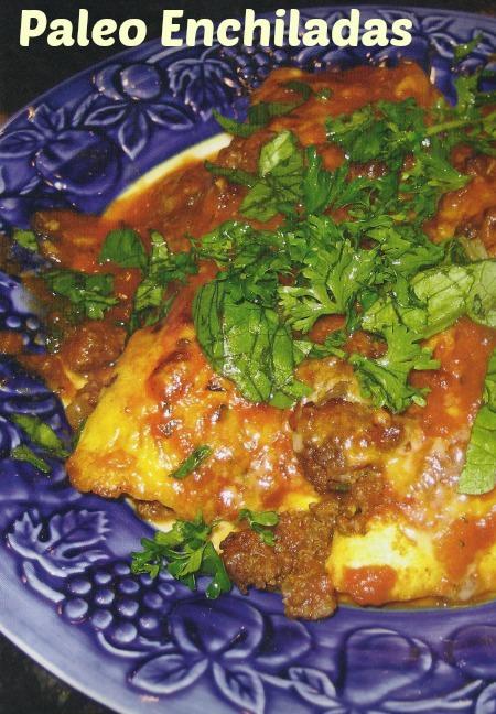 paleo enchiladas, gluten free enchiladas