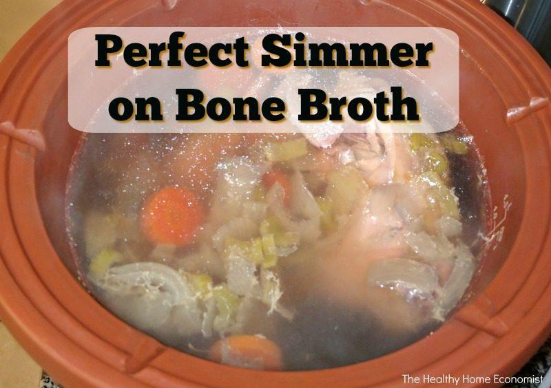 bone broth perfect simmer