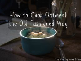 How to Cook Oatmeal the Right Way (+ VIDEO)