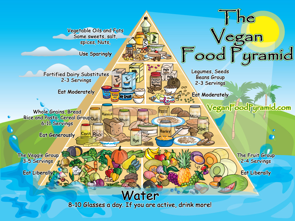 Vegan Food Pyramid Archives The Healthy Home Economist
