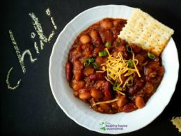 homemade chili recipe