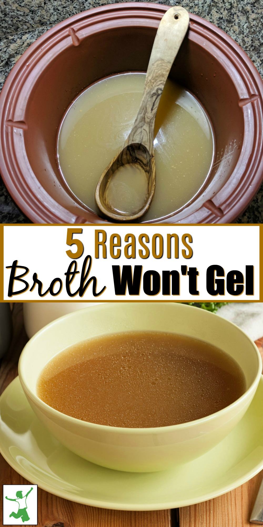 why broth gels
