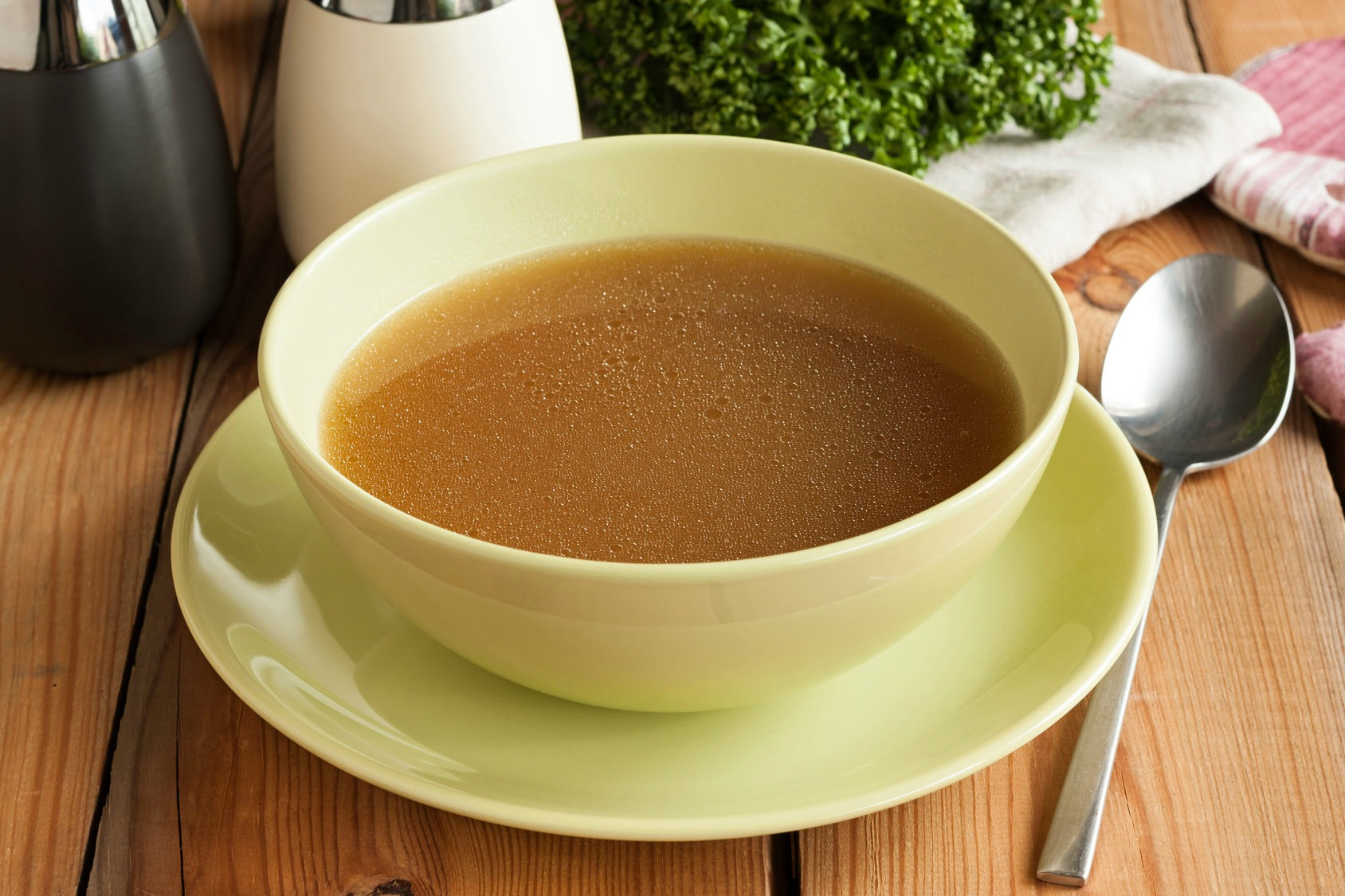 bone broth radio interview