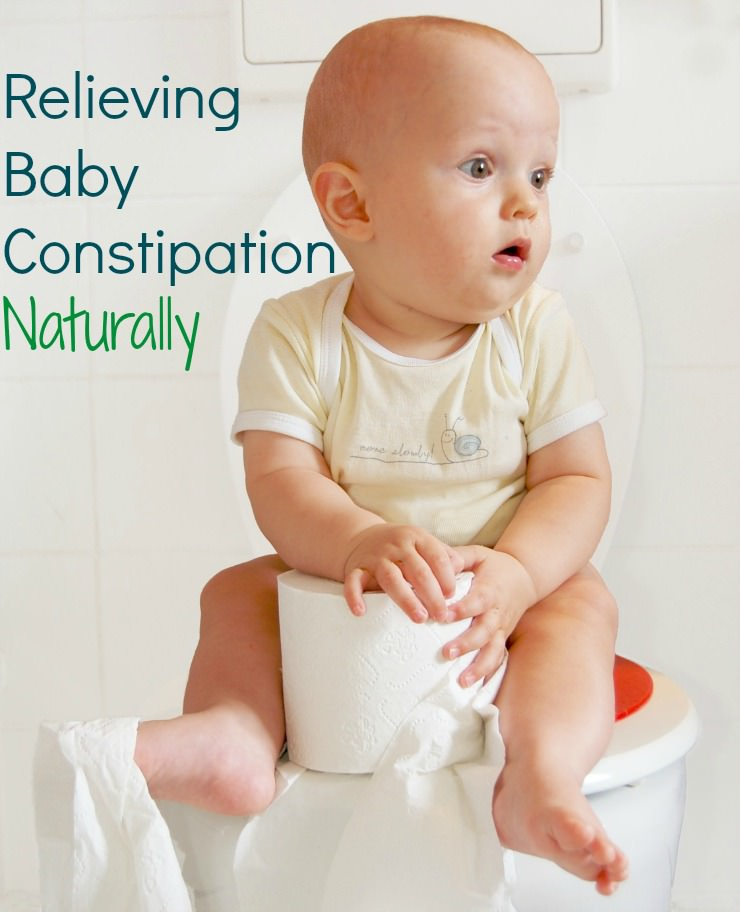 relieve baby constipation naturally