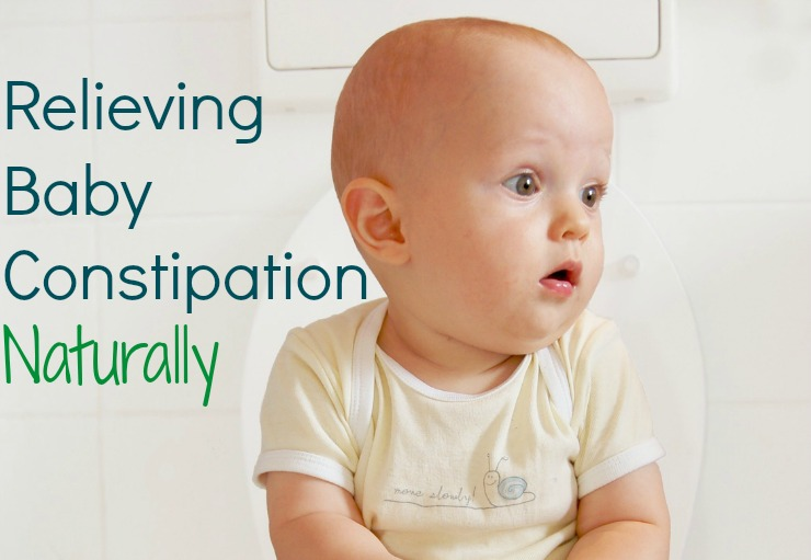 Relieving Baby Constipation Naturally The Healthy Home