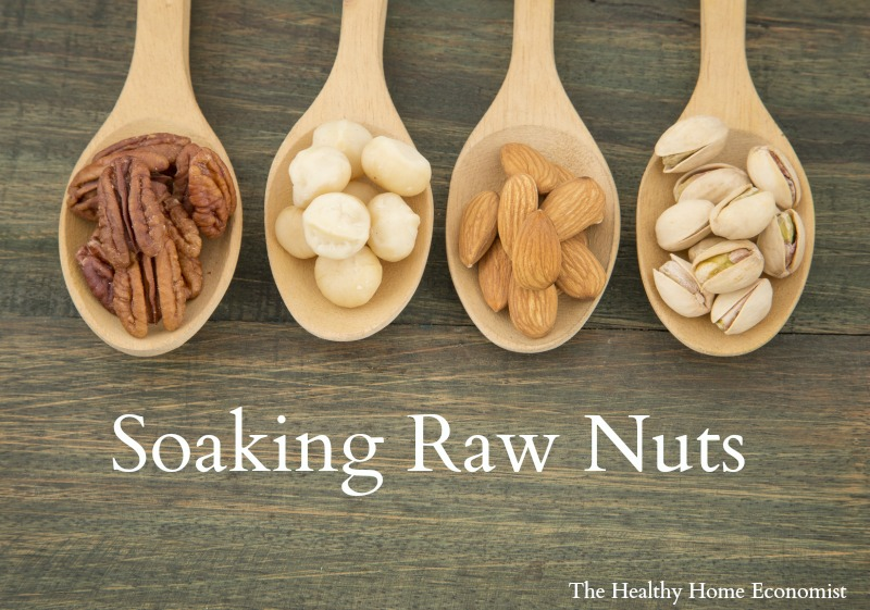 soaked raw nuts