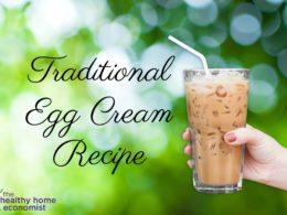 egg cream, egg cream recipe