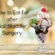 gall bladder surgery